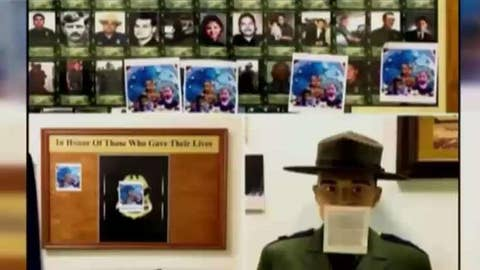 Museum for fallen border agents vandalized in Texas