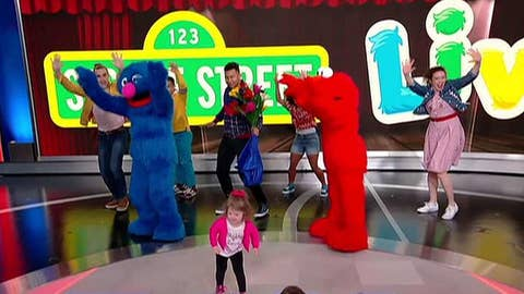Elmo and friends are back on tour with 'Sesame Street Live!'