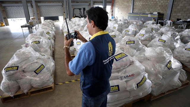 White House amassing aid for Venezuela in effort to help humanitarian crisis, boost opposition