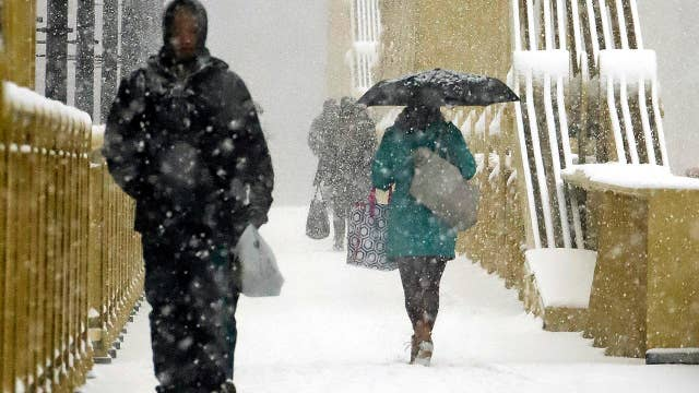Massive winter storm impacting millions of Americans from the Rockies to New England
