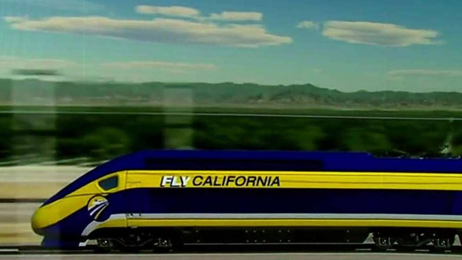 Trump, Newsom spar over funding for California's high-speed rail project