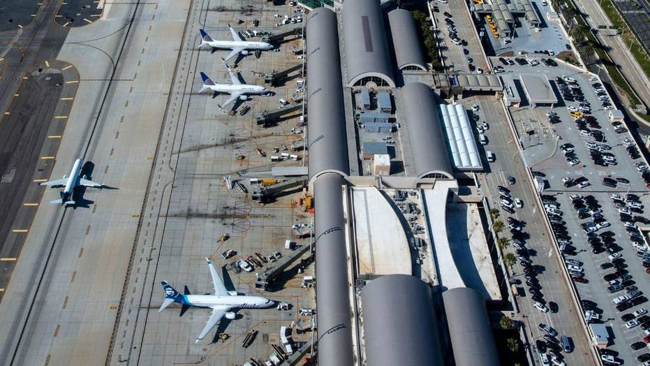 California airport contractor killed after jet bridge tire explodes