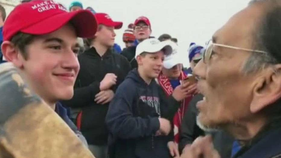 President Trump cheers Covington student's lawsuit against the Washington Post