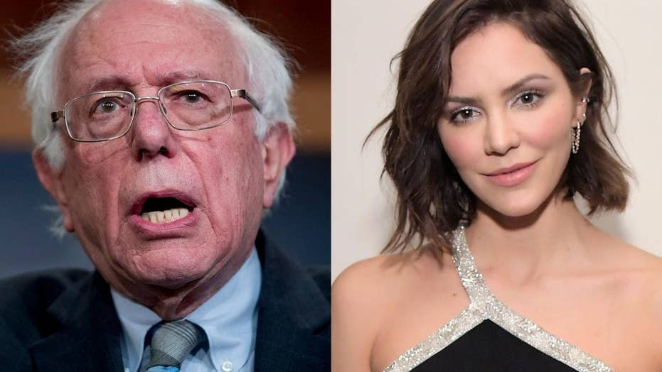 Katherine McPhee says 'Bernie Sanders should know when to call it quits'