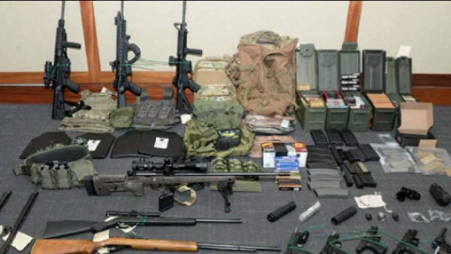 Coast Guard officer arrested on gun charges had hit list of media personalities and Democratic lawmakers
