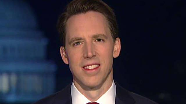 Sen. Hawley demands answers from the FBI on their investigation into President Trump