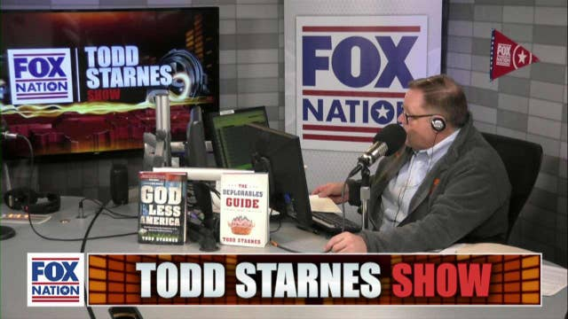 Todd Starnes and Debbie D'Souza