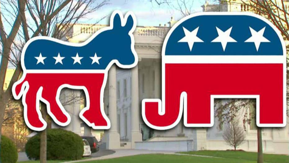 Could a deeply divided electorate split America's two-party system?