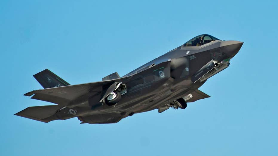 F-35 'kills' dozens of enemy fighters in AirWar live combat 'scenario'