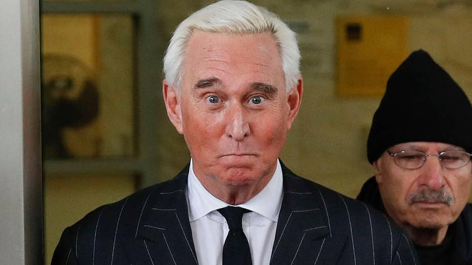 Roger Stone appears in court again after posting photo of judge in crosshairs