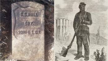 Civil War soldier's gravestone discovered by archaeologists in Delaware