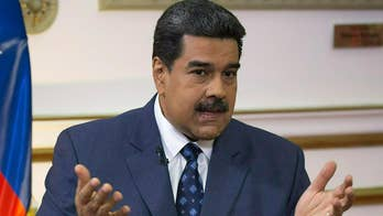 President Nicolás Maduro attempts to keep foreign aid out of Venezuela