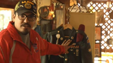 Army veteran finds lost uniform in California antique shop
