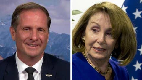 Rep. Stewart: Nancy Pelosi is worst spokesperson on security