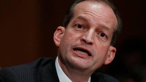 Labor Secretary Alex Acosta under fire for Epstein sex offense plea deal