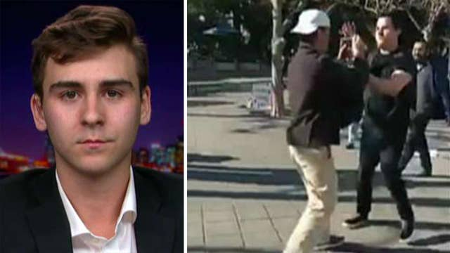 UC Berkeley student who recorded campus attack disappointed in university's response