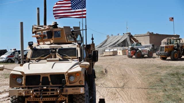 200 US troops to remain in Syria as peacekeeping force for a 'period of time'