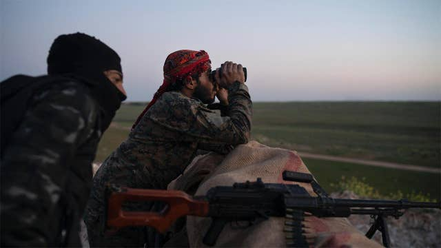 ISIS fighters facing defeat in Syria are slipping across the border into Iraq