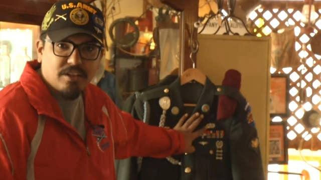 Army veteran finds lost uniform in California antique shop