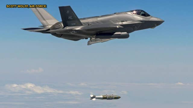 Air Force revs up production of precision bomb dubbed 'world's largest sniper'