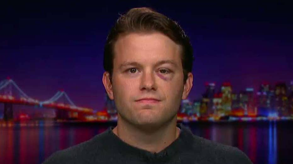 Conservative attacked on University of California-Berkeley campus speaks out