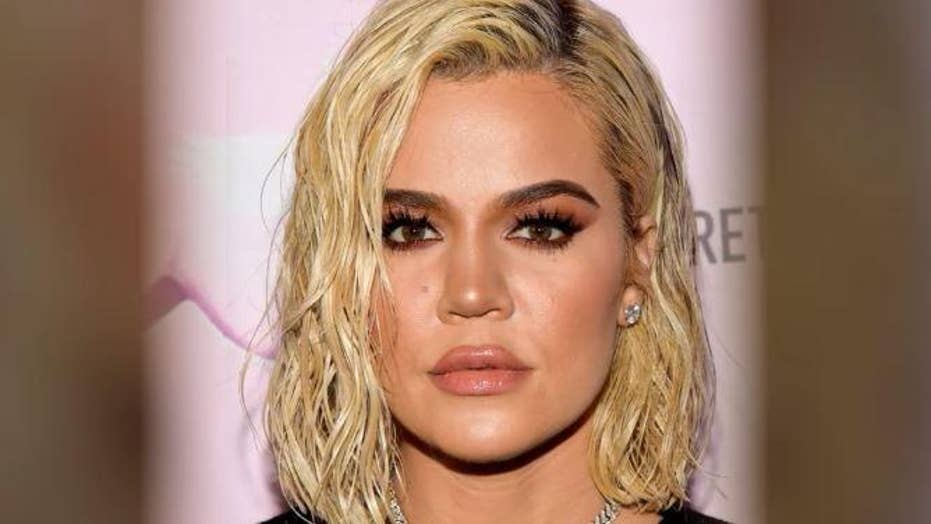 Khloe Kardashian's clothing company, Good American, gets accused of photoshopping an image of the reality star