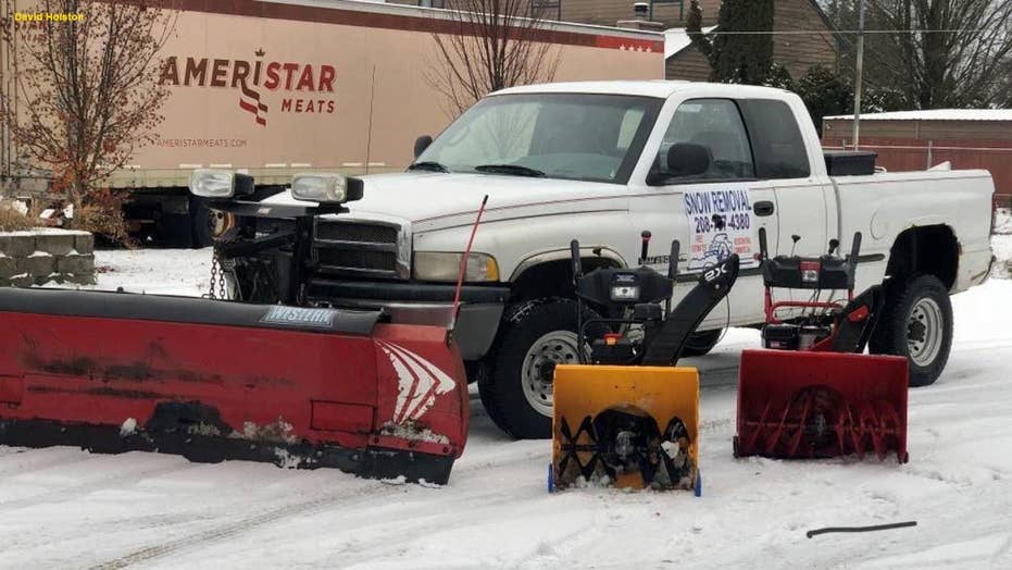 Teen donates thousands to his local church after he makes 35K plowing snow in Seattle