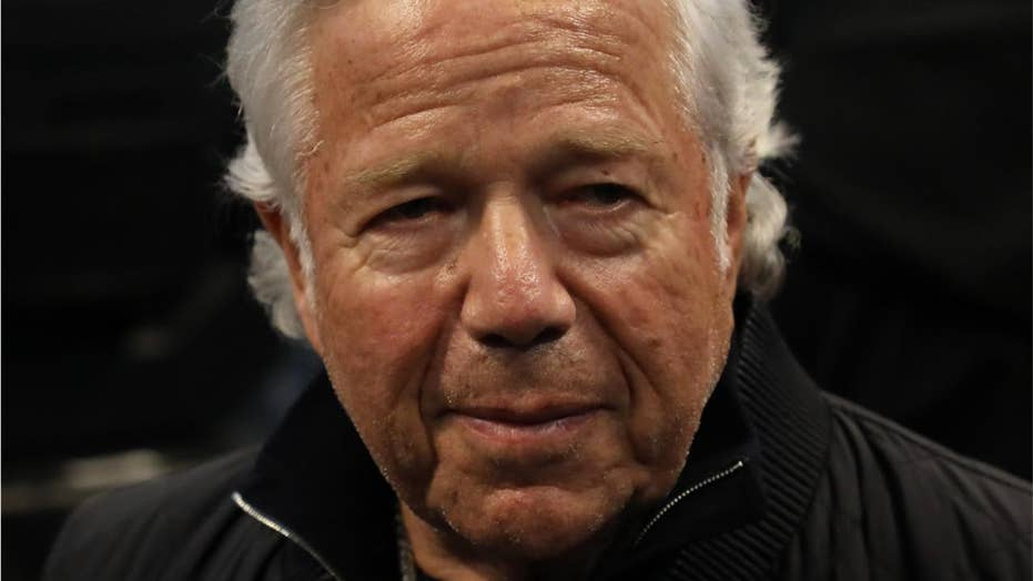 New England Patriots owner Robert Kraft charged with soliciting sex at Florida spa