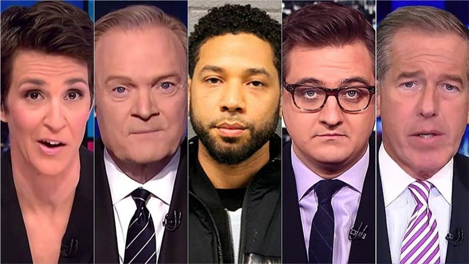 MSNBC's avoidance of Jussie Smollett story during primetime 'a politically biased journalistic choice,' expert says