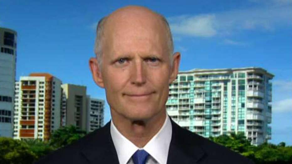 Sen. Rick Scott: Democrats say they 'want border security' yet they won't fund it