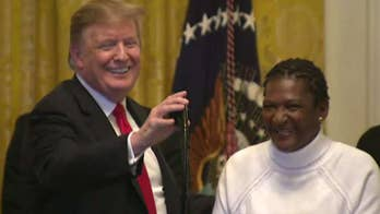 Is the left worried President Trump is making inroads with the African-American community?