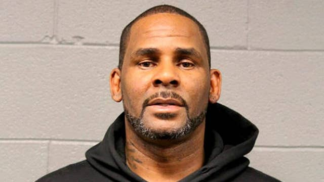 R. Kelly bond set at $1M after being charged with 10 counts of sexual abuse