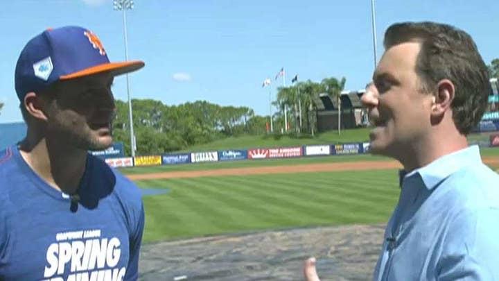 Tim Tebow talks baseball, faith and facing life's challenges