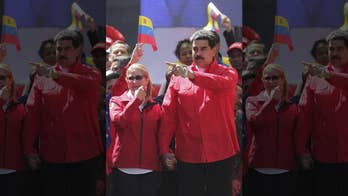 Venezuela's Maduro mocks Trump, opposition leader Guaido