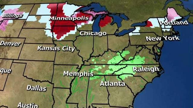 National forecast for Sunday, February 24
