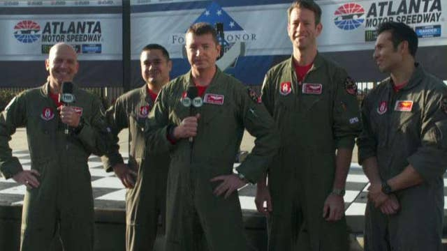 The Folds of Honor Quiktrip 500 flyover pilots join 'Fox & Friends'