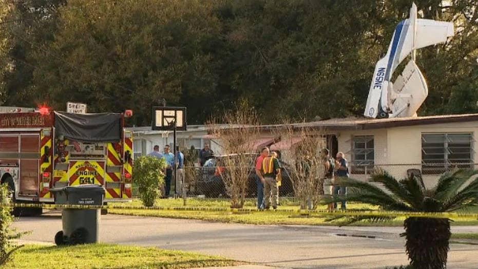 Plane crashes into Florida home