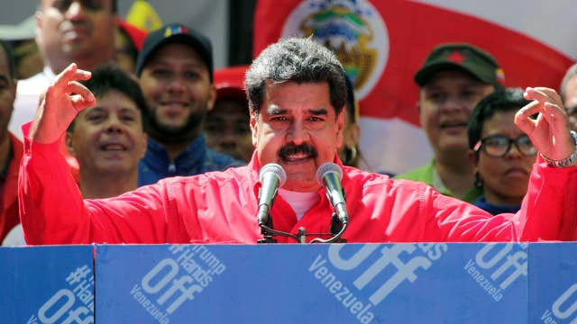 Maduro blocks aid from entering Venezuela