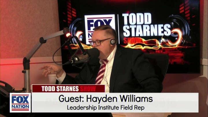 Todd Starnes and Hayden Williams