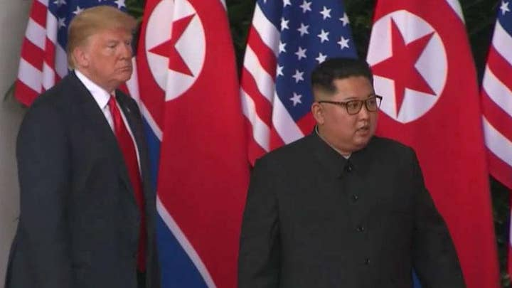 President Trump expresses optimism about second summit with Kim Jong Un