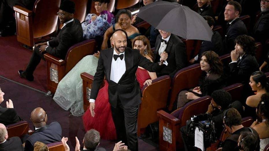 Keegan-Michael Key mocks President Donald Trump's umbrella mishap