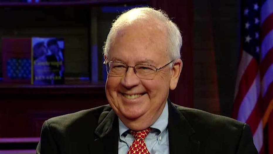 Ken Starr compares how the media his investigation to how they are treating the Mueller probe