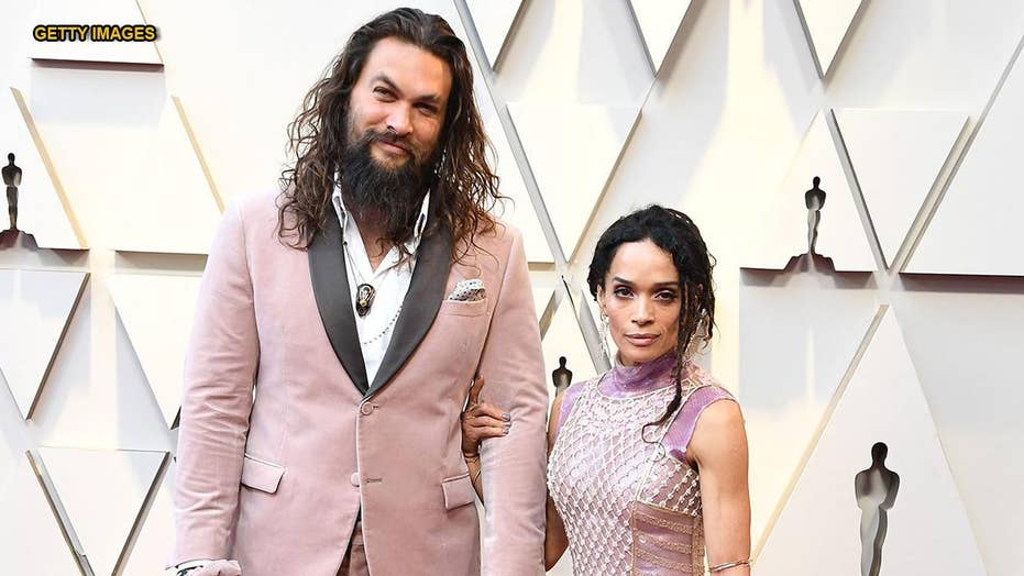 Jason Momoa, Lisa Bonet respond to Girl Scout's 'Momoa Samoas' on red carpet