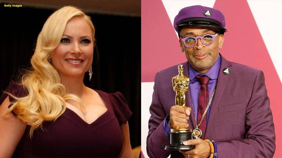 Meghan McCain defends Spike Lee's Oscar speech after the filmmaker becomes a target of Donald Trump tweet