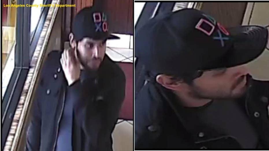 Caught on tape: Knife-wielding man attacks random donut shop customer in California