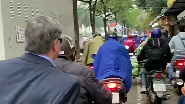 Hannity team takes scooters to work in Vietnam