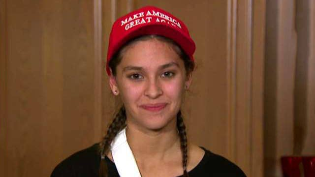 Teen banned from wearing MAGA hat at school speaks out