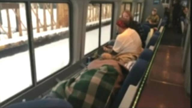 Heavy snow, closed roads delayed rescue of nearly 200 passengers stuck on Amtrak train