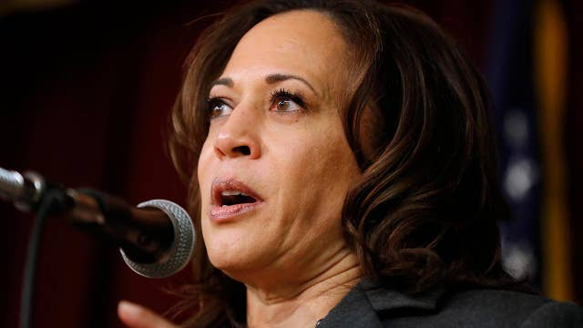 Sen. Kamala Harris dismisses concerns about cost of the Green New Deal