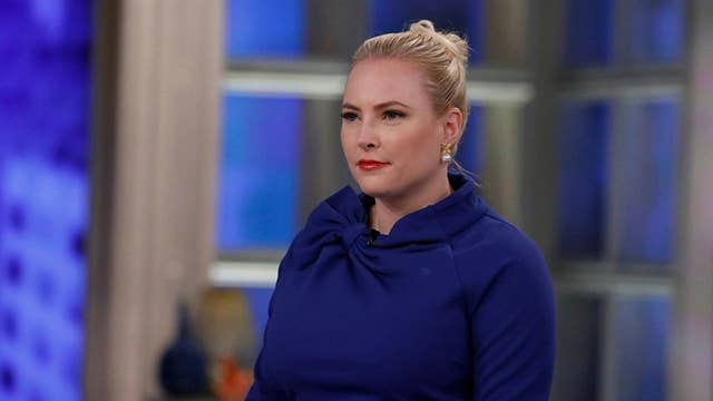 'The View' erupts as angry Meghan McCain talks about Democrats blocking 'born alive' bill: 'Disgusting'